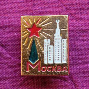モスクワ ピンバッジ